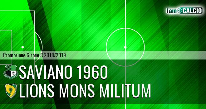 Saviano 1960 - Lions Mons Militum