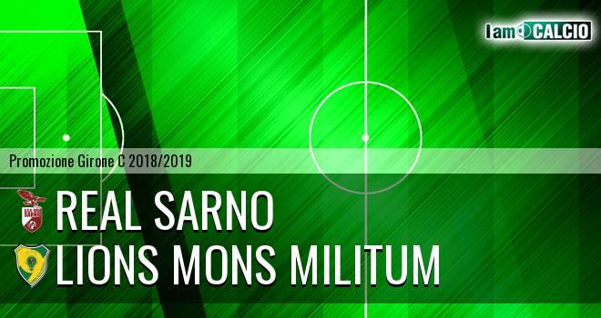 Real Sarno - Lions Mons Militum