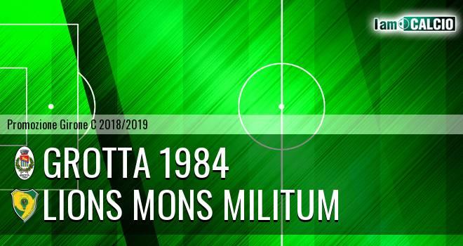 Grotta 1984 - Lions Mons Militum