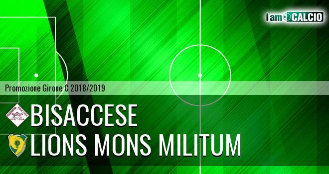Bisaccese - Lions Mons Militum