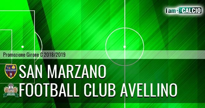 San Marzano - Football Club Avellino