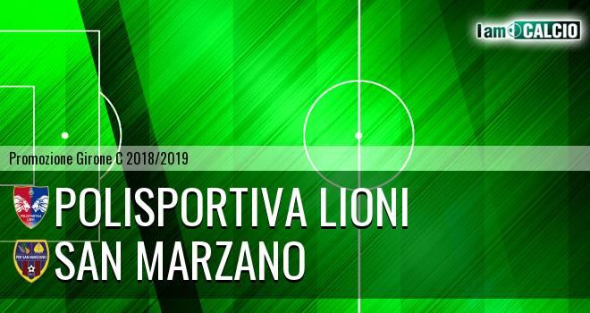 Polisportiva Lioni - San Marzano