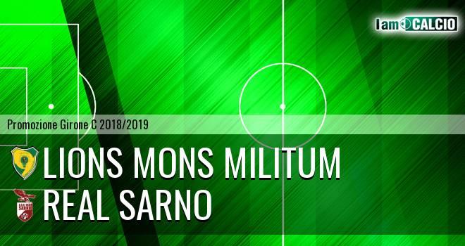 Lions Mons Militum - Real Sarno