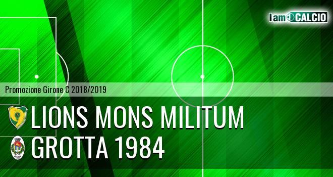 Lions Mons Militum - Grotta 1984