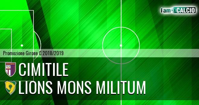 Cimitile - Lions Mons Militum