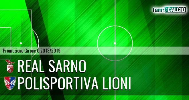 Real Sarno - Polisportiva Lioni
