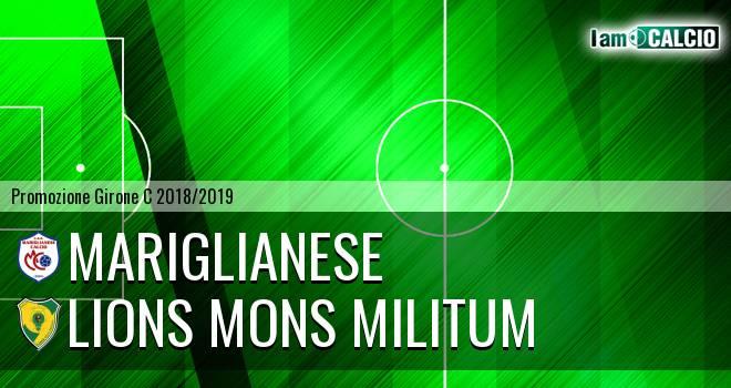 Mariglianese - Lions Mons Militum