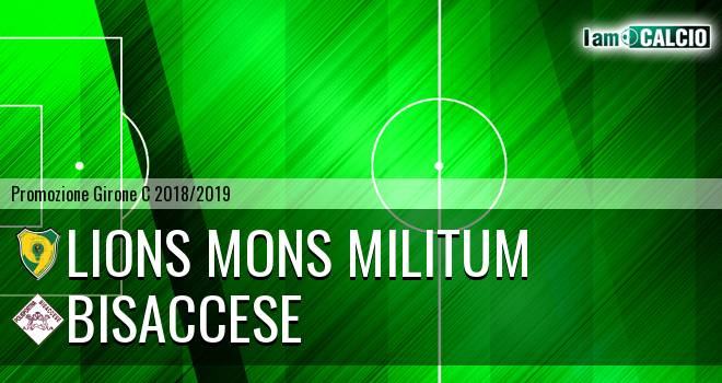 Lions Mons Militum - Bisaccese