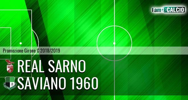 Real Sarno - Saviano 1960 1-2. Cronaca Diretta 16/03/2019