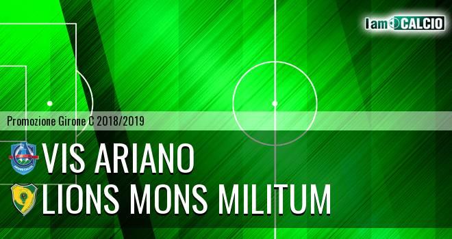 Vis Ariano - Lions Mons Militum