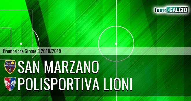 San Marzano - Polisportiva Lioni
