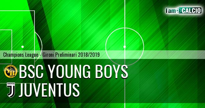 BSC Young Boys - Juventus 2-1. Cronaca Diretta 12/12/2018
