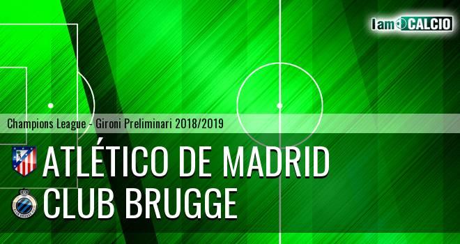 Atletico Madrid - Club Brugge