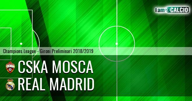 CSKA Mosca - Real Madrid