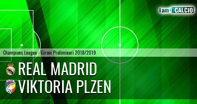 Real Madrid - Viktoria Plzen