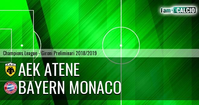 AEK Atene - Bayern Monaco