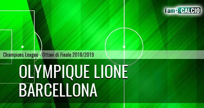 Olympique Lione - Barcellona