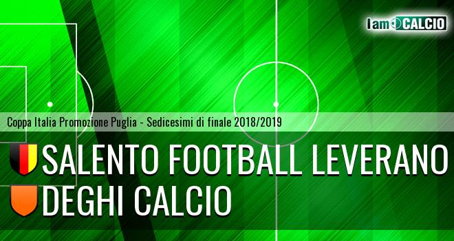 Salento Football Leverano - Deghi Calcio