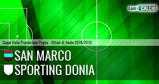 San Marco - Sporting Donia