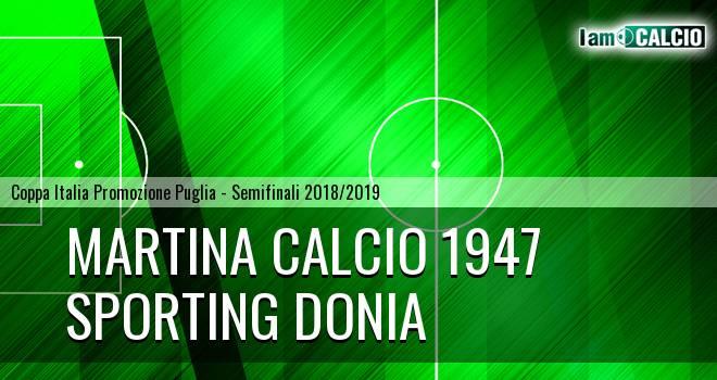 Martina Calcio 1947 - Sporting Donia