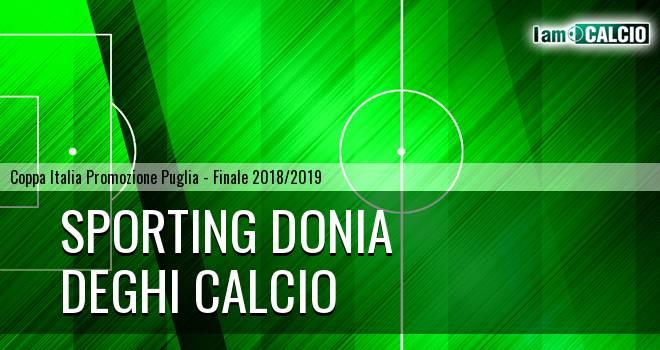 Sporting Donia - Deghi Calcio