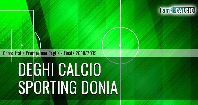 Deghi Calcio - Sporting Donia 1-1. Cronaca Diretta 21/03/2019