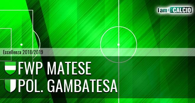 FWP Matese - Pol. Gambatesa