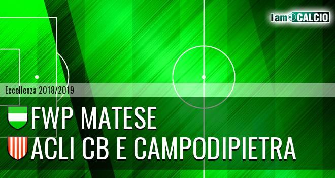 FWP Matese - Acli Cb e Campodipietra