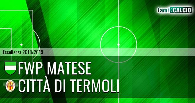 FWP Matese - Calcio Termoli 1920