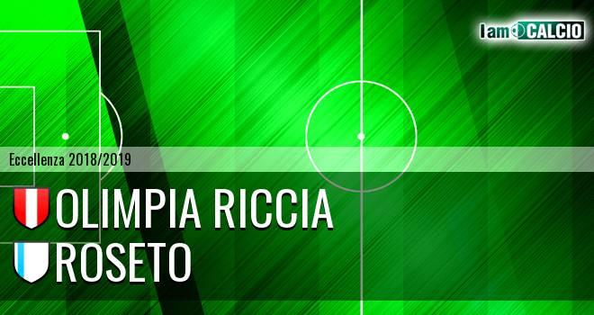 Olimpia Riccia - Roseto