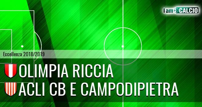 Olimpia Riccia - Acli Cb e Campodipietra