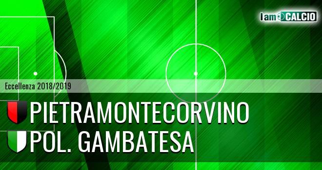 Pietramontecorvino - Pol. Gambatesa