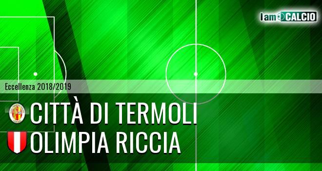 Calcio Termoli 1920 - Olimpia Riccia