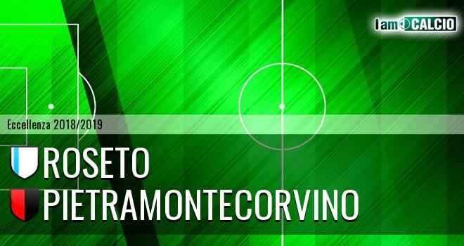 Roseto - Pietramontecorvino