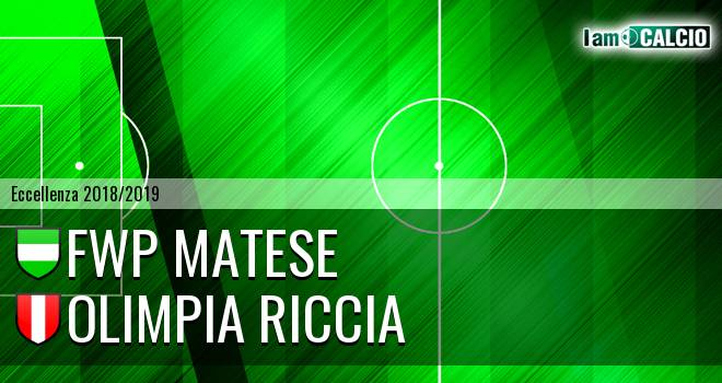 FWP Matese - Olimpia Riccia