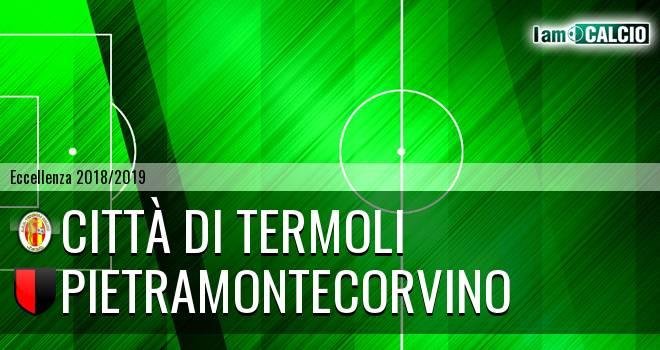 Calcio Termoli 1920 - Pietramontecorvino