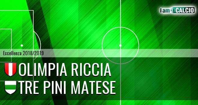 Olimpia Riccia - Tre Pini Matese