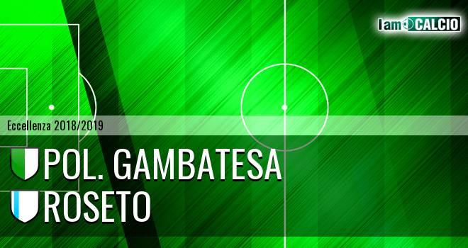 Pol. Gambatesa - Roseto