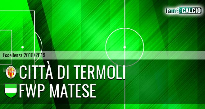 Calcio Termoli 1920 - FWP Matese