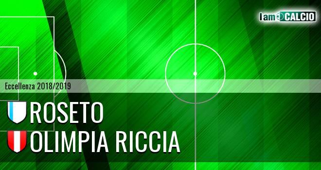 Roseto - Olimpia Riccia