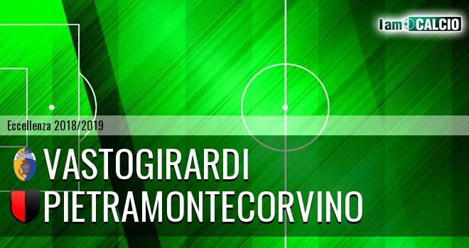 Vastogirardi - Pietramontecorvino 3-1. Cronaca Diretta 16/03/2019