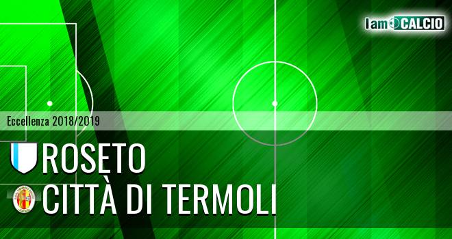 Roseto - Calcio Termoli 1920