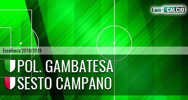 Pol. Gambatesa - Sesto Campano