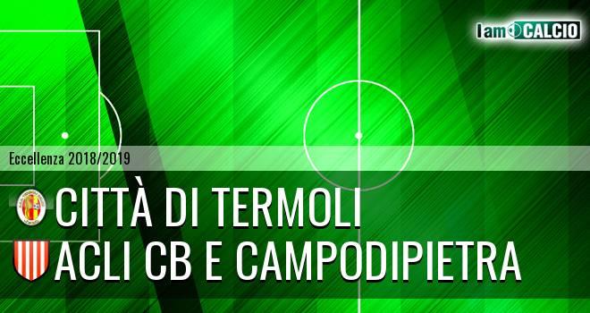 Calcio Termoli 1920 - Acli Cb e Campodipietra