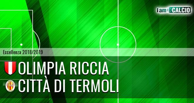 Olimpia Riccia - Calcio Termoli 1920