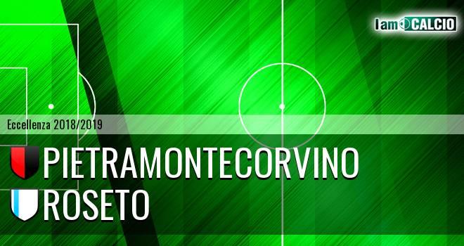 Pietramontecorvino - Roseto