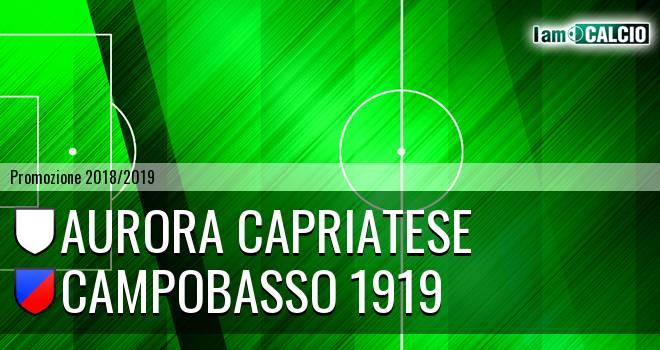 Aurora Capriatese - Campobasso 1919