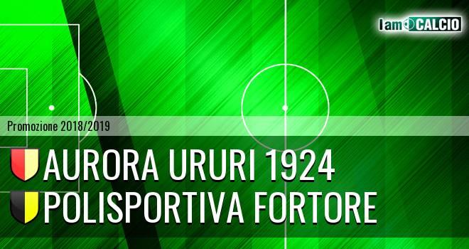 Aurora Ururi 1924 - Polisportiva Fortore