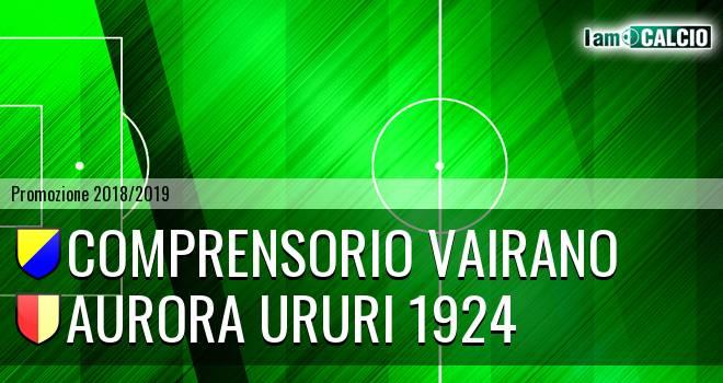 Comprensorio Vairano - Aurora Ururi 1924