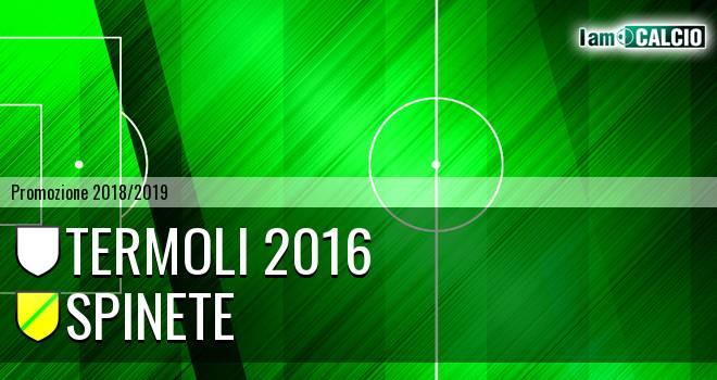 Termoli 2016 - Spinete